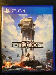 PS4 Used Game Star Wars Battlefront