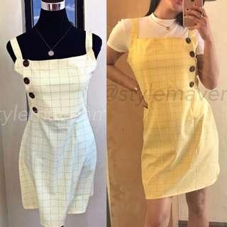KIM Side-Button Dress