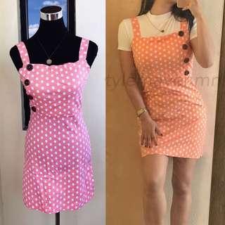 LISA Side-Button Dress