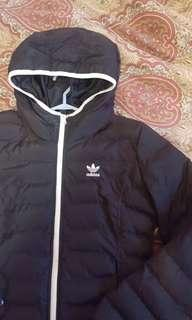 ADIDAS black bomber jacket