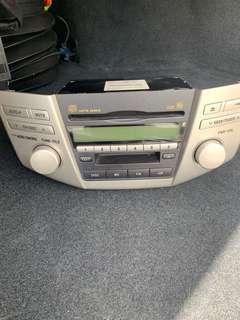Harrier 2009 Car Radio unit