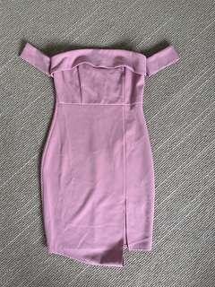 FASHION NOVA off the shoulder dress NEVER WORN