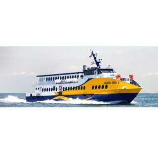 Bintan Tanjung Pinang Sindo Ferry 2-way tickets