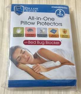 👍防蟎&防蟲多功能枕頭保護套👍
