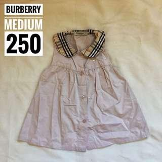 Burberry Button Dress Medium Beige