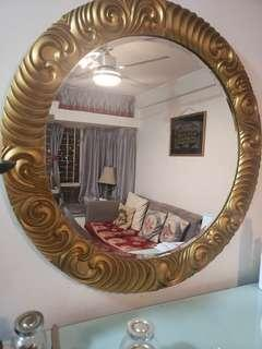 gold interior mirror (moving sale ) discount deal