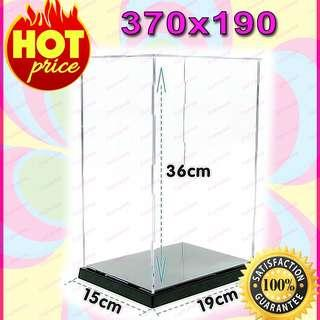 "New! Clear Acrylic Display Case Box 12"" 1/6 Scale Figures (Easy self-assembly) !"