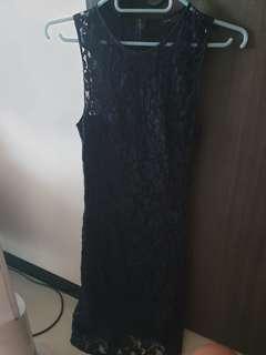 Joseph navy lace dress uk6