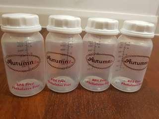 Breastmilk Storage Bottles 4 in 1