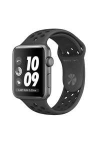 🔥BNIB Apple Watch Series 3 Nike+ Space Grey 42mm Aluminium GPS with Anthracite Black Sports Band