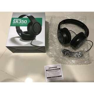 Samson SR350 Over Ear Stereo Headphone