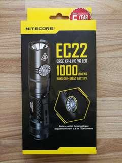 Nitecore Flashlight EC22 EC23 EC30 P20UV