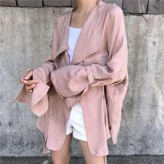 BNWT Pink light spring autumn jacket/ coat