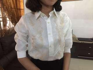 Lady Barong Modern Filipiniana 3/4 Sleeve