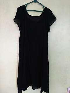 Dress hitam cantik