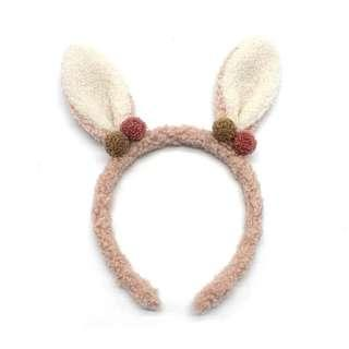 Bunny ear cute hair band Korea bendable