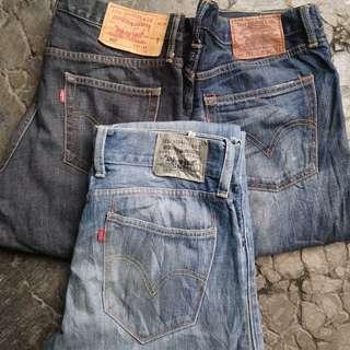 Celana levis original second