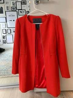 Orange forever new coat