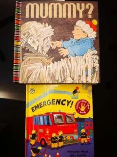 Pop up book/sensory book