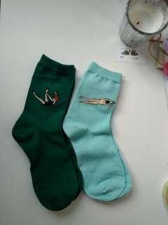 🚚 cute quirky socks