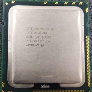 🚚 Intel® Xeon® 處理器 E5540 8M 快取記憶體、2.53 GHz、5.86 GT/s Intel® QPI
