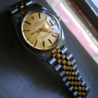 Rolex Datejust 16013 Linen dial