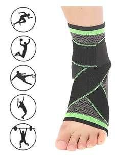 Ankle Guard - Elastic Ventilation Pressure Protection Sport Ankle Guard Supply for Running, Fitness, Biking, Outdoor, Balls