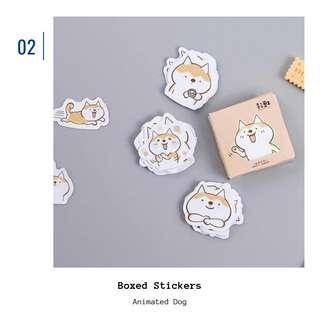 🚚 [IN] [ST] Boxed Stickers: Animated Dog