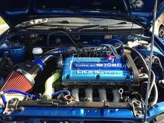 Engine enjin 4g63 na evo, vr4