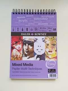 Daler Rowney Mixed Media Paper Pad