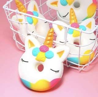 🚚 (PO) Unicorn donut Squishy