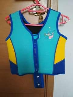 Swimming floatation vest
