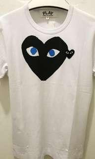 CDG Play Tee ( REDUCED)