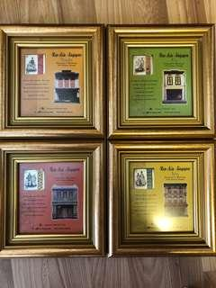 🚚 Stamps New Asia in Frames