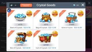 Selling MapleStoryM diamond