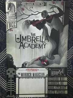 The Umbrella Academy #1 FCBD Free Comic Book Day Dark Horse 2007 NM MCR Gerard Way