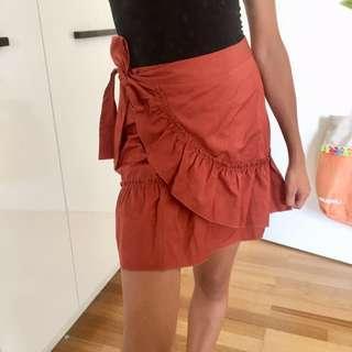 River Island Wrap Skirt