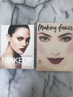 Celebrity make up artist's books/guides