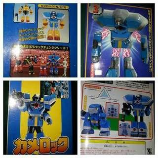 (3-4-5)鐵腕偵探露寶達「金屬英雄系列」figure robben 三款互組  (優惠自取)