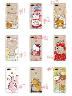 PRE-ORDER PH014 Cartoon Character Soft Back Case