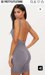 PLT grey dress