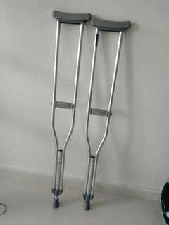 """Crutches - S size (5.2""""-5.10"""")"""