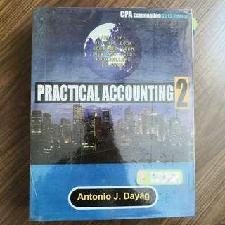 PRACTICAL ACCOUNTING 2 by Antony Dayag (2013 Edition)