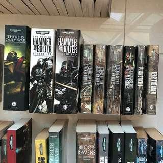 Warhammer 40k Books & Novels - Omnibuses and Short stories anthologies