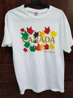 🚚 White Canada Vancouver T Shirt