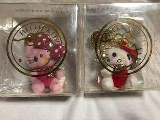 Hello Kitty keychain plush