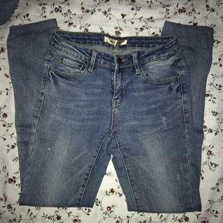 Denim semi HW Jeans