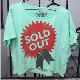 """Kaos graphic """"SOLD OUT"""""""