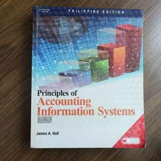 PRINCIPLES OF ACCOUNTING INFORMATION SYSTEM by James Hall
