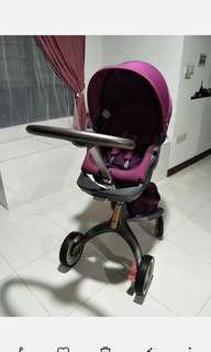 Preloved Stokke Purple Xplory V3